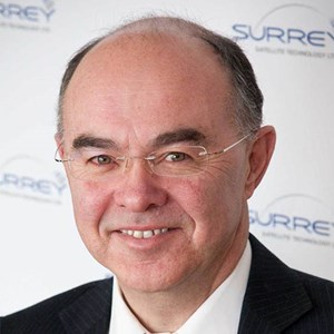 Professor Sir Martin Sweeting OBE FREng FRS